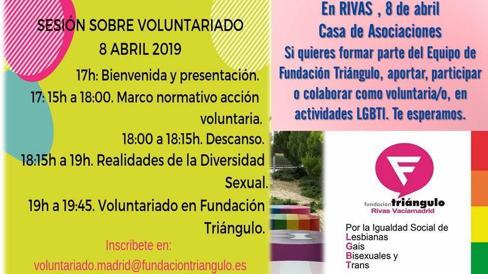 Sesión / Taller Voluntariado LGTBI