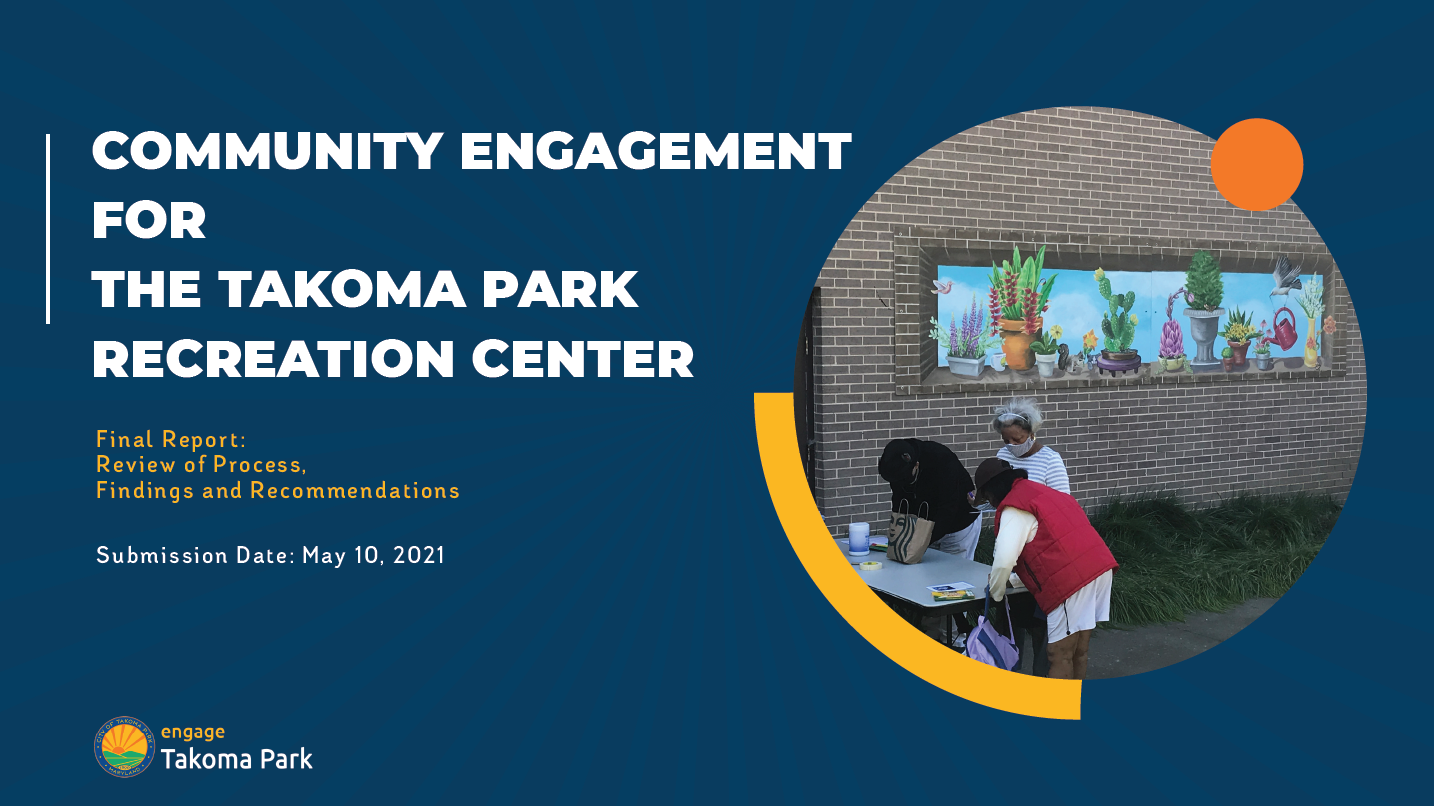 Find out what Your Neighbors said about the Redevelopment of the Recreation Center!