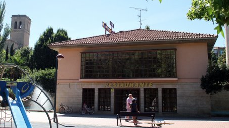 Reapertura del bar que hay en el Parque del Ebro