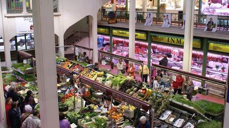 Comerciantes del Mercado de San Blas