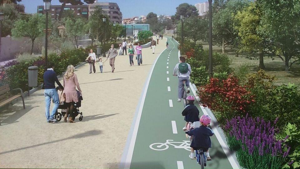 Mejora parque lineal avd. José hierro