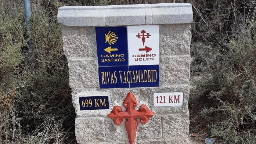 Mejora Camino de Santiago / Camino Uclés  para conectar Rivas con Madrid