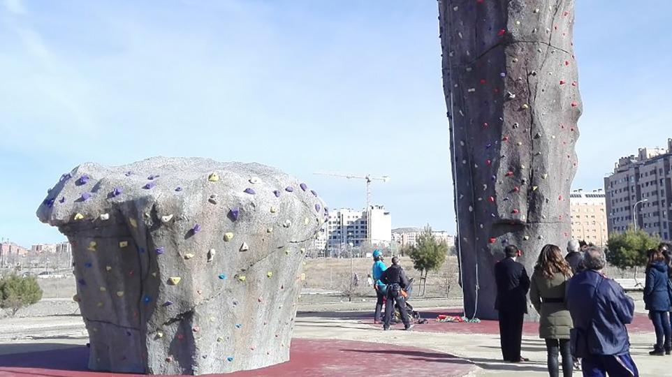 Creación Rocódromo   Skatepark   Parkour park
