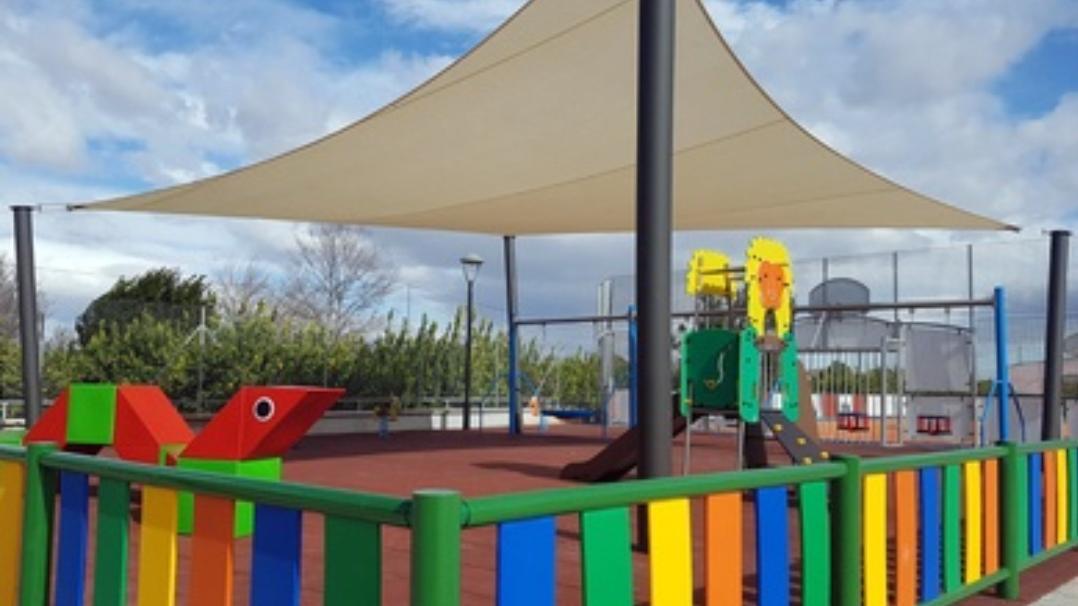 Parques con sombra para l@s niñ@s