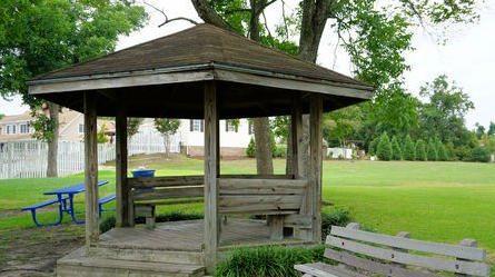 Mesas con tejado