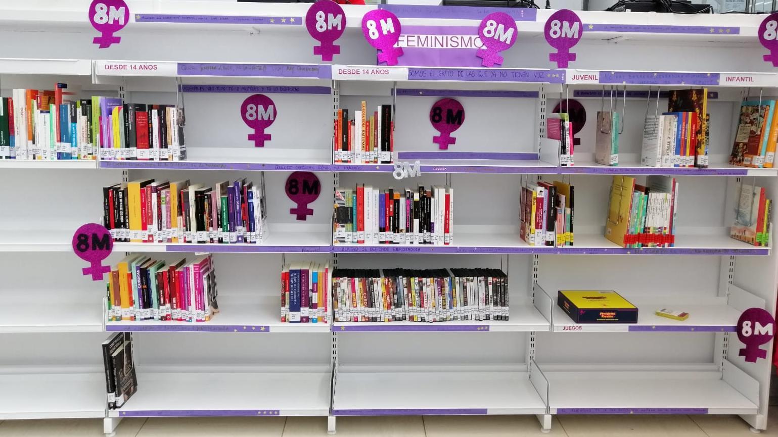 AMPLIAR FONDOS BIBLIOGRÁFICOS SOBRE FEMINISMO E IGUALDAD