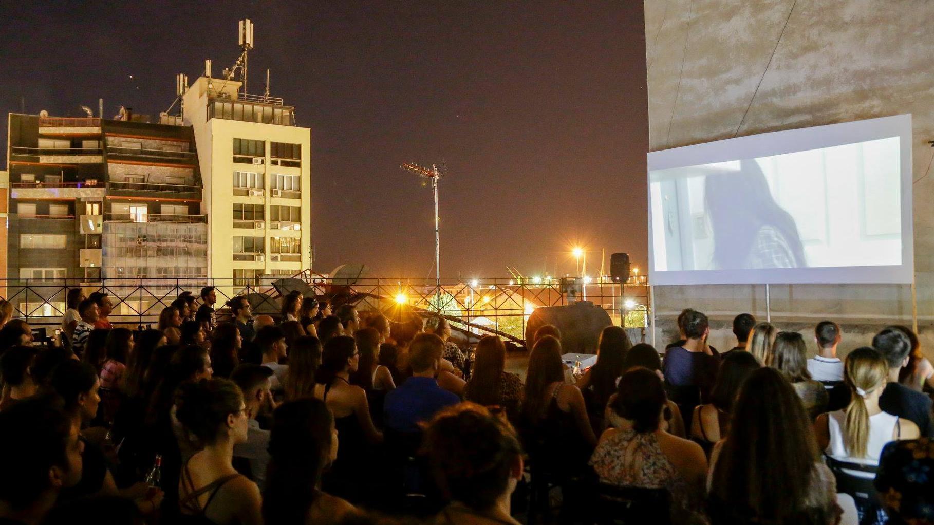 Cine al aire libre en Verano