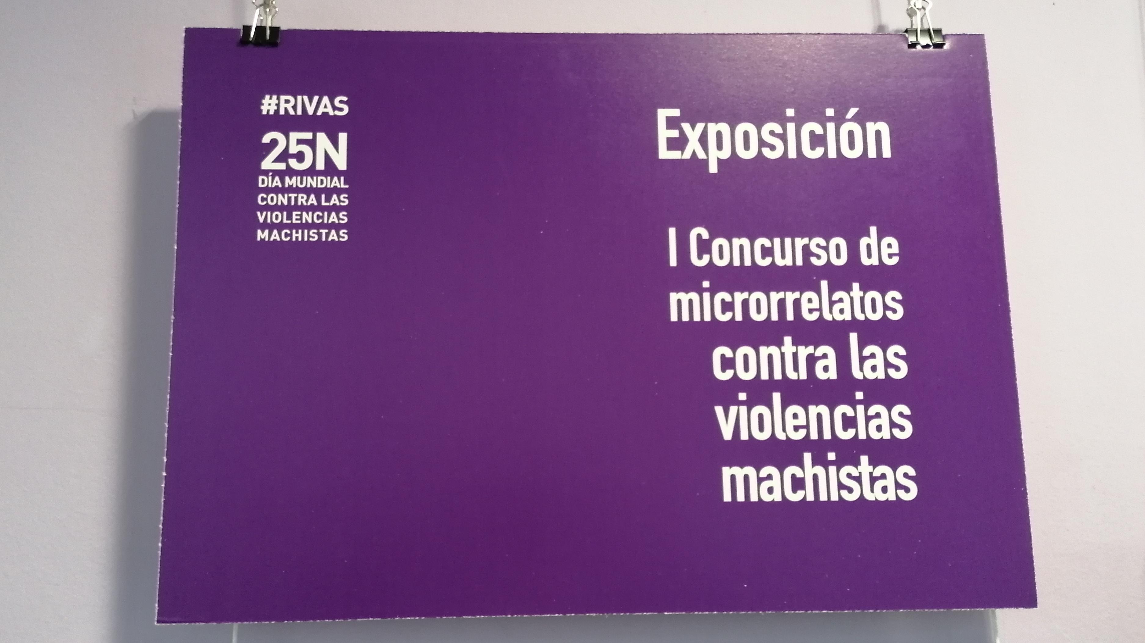 Exposición de los microrrelatos contra las ciberviolencias machistas