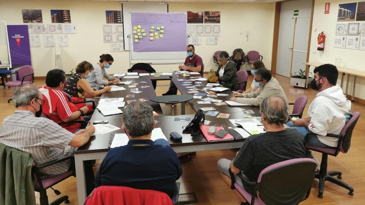 Arranca la Comisión de Dinamización Vecinal del Barrio Rivas Centro
