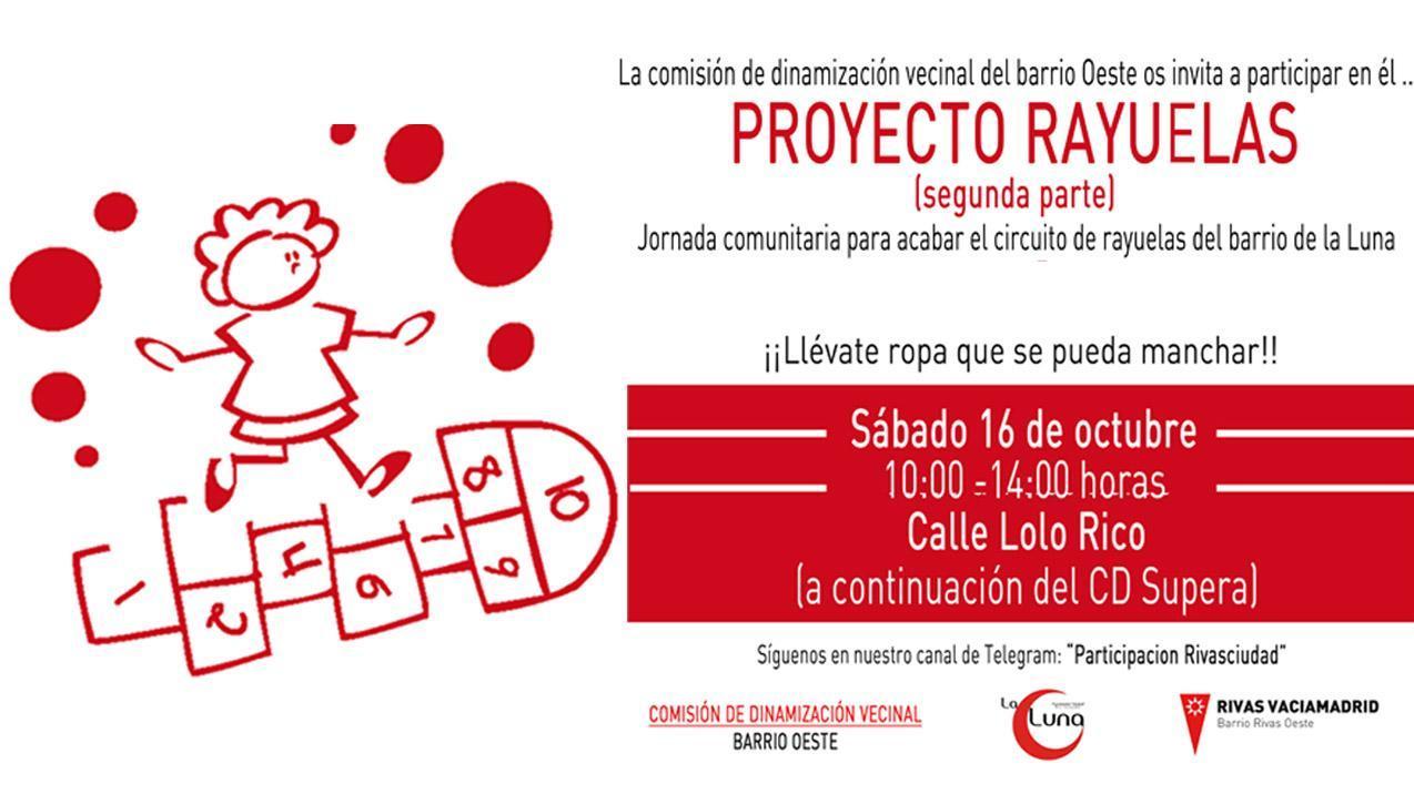 """¡Llega la segunda jornada comunitaria del """"Proyecto Rayuelas""""!"""